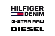 HILFIGER DENIM • G-STAR RAW • DIESEL